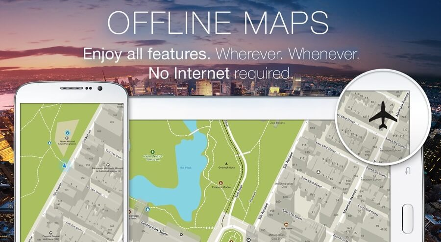android navigacija bez interneta